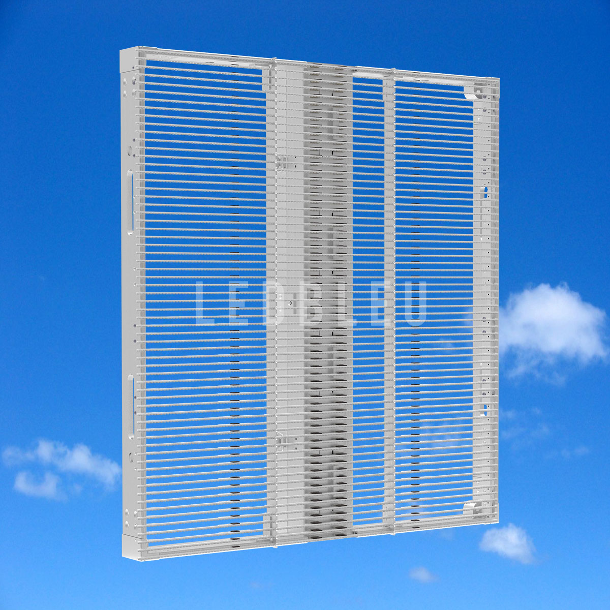 Dalle écran led semi transparent LEDBLEU Vue-avant-50x50