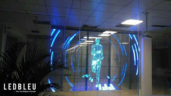 ecran-led-transparent-ledbleu